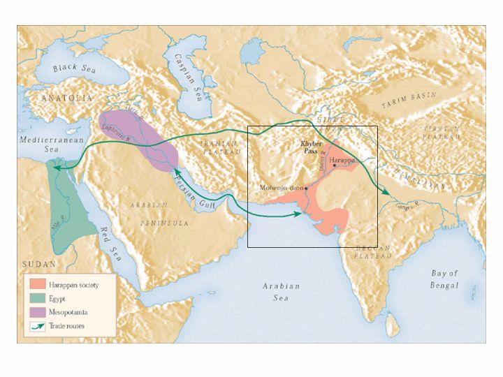 Ancient India Map Harappa.Slide 4